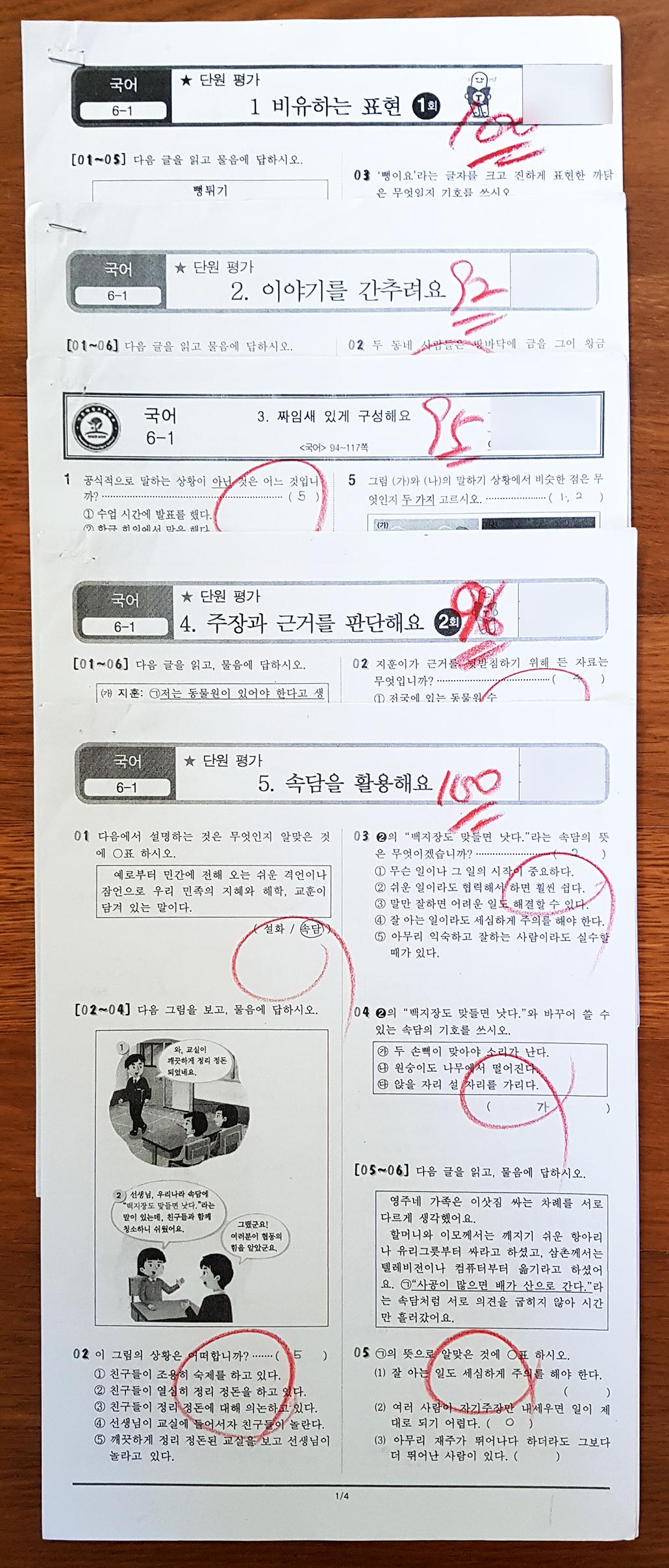 초등 6-1 국어단원평가 시험지.jpg